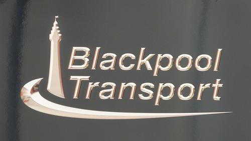 'Blackpool Transport' Logo on 'Dennis Basford's railsroadsrunways.blogspot.co.uk'