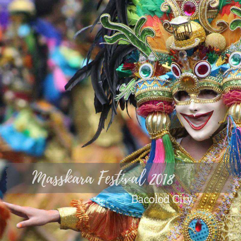 Masskara Festival 2018 Schedule