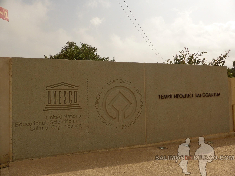 0291. Entrada Templos de Ggantija, Xaghra, Gozo