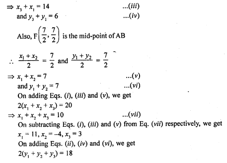 RD Sharma Class 10 Solutions Co-Ordinate Geometry Exercise 14.5