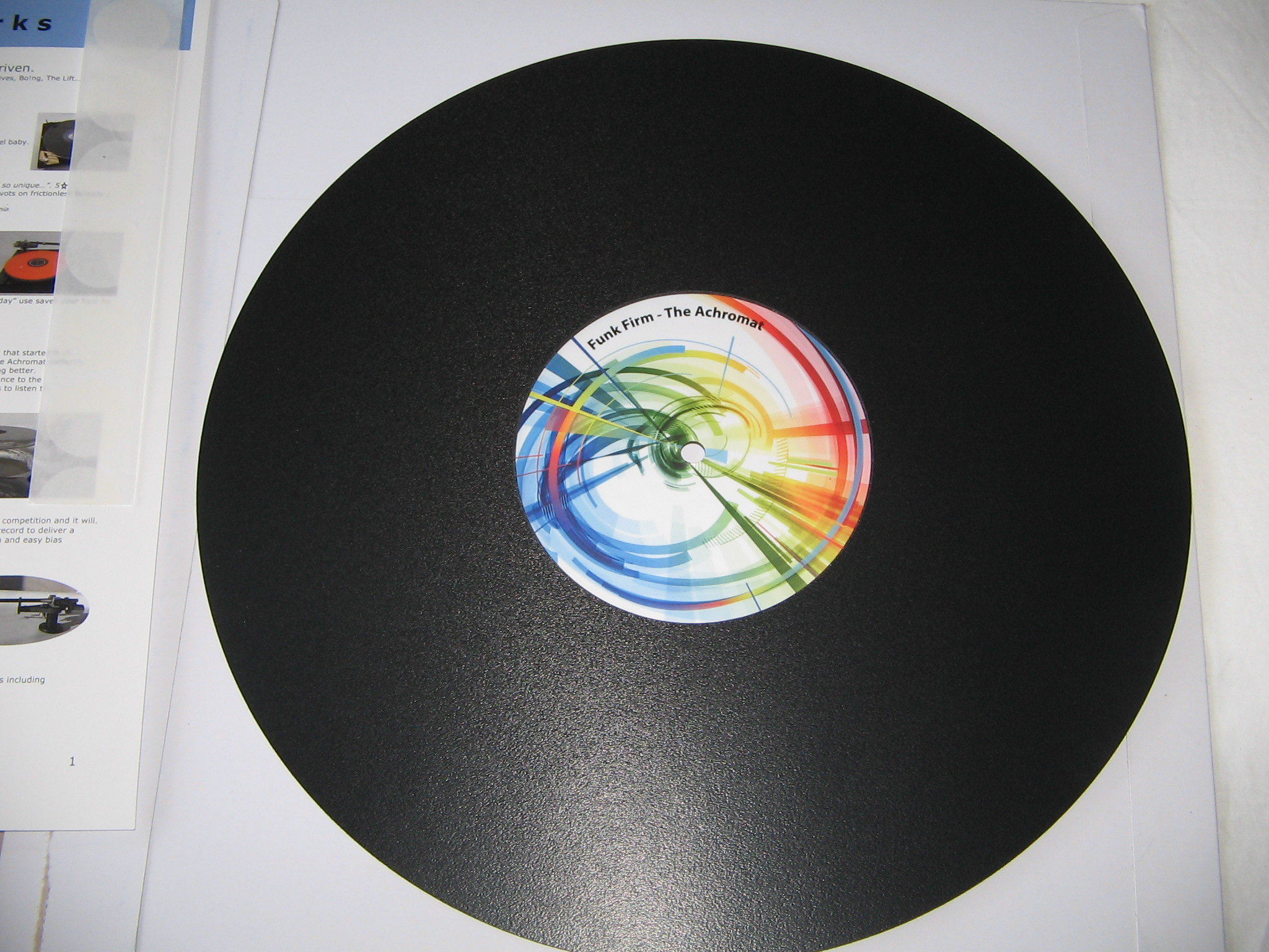 Fs Funk Firm Achromat Turntable Platter Mat 3 0mm