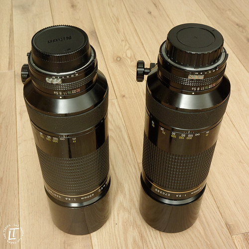 Twin 400mm f5.6 ED Nikkor | by Luis TAPPA