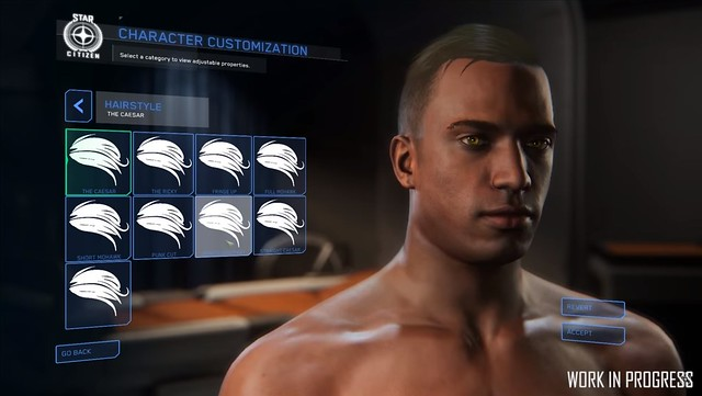 Star Citizen - Character Customization