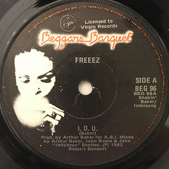 FREEEZ:IOU(LABEL SIDE-A)