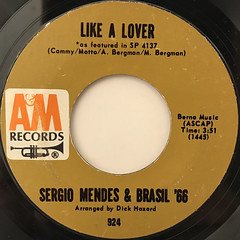 SERGIO MENDES & BRASIL '66:THE LOOK OF LOVE(LABEL SIDE-B)