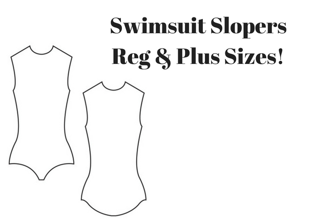 Swimsuit sloper