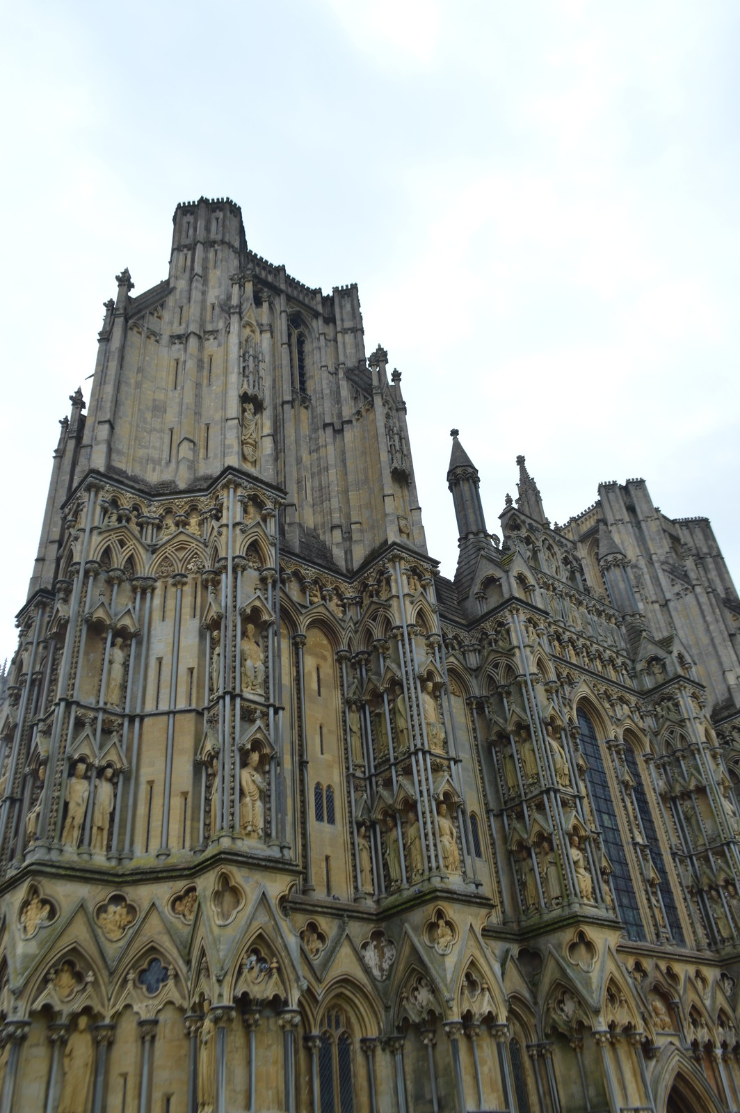 This is a picture of wells cathedral