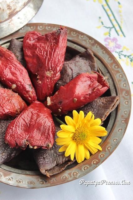 kuru patlıcan biber dolması (1)