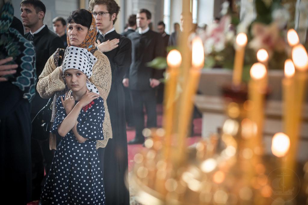 6 июня 2018, Седмица 2-я по Пятидесятнице. Блж. Ксении Петербургской (прославление 1988) / 6 June 2018, 2nd Week after Pentecost. The remembrance day of the Saint Blessed Xenia of St. Petersburg