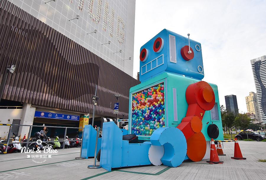 米茲機器人-巨型扭蛋機.台中場01