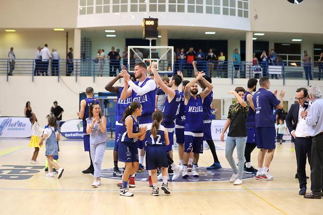FINAL |  Club Melilla Baloncesto  - ICL Manresa (Jornada 3)