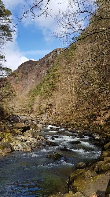 Aber Glaslyn Pass,Snowdonia National Park,Gwynedd,North Wales.