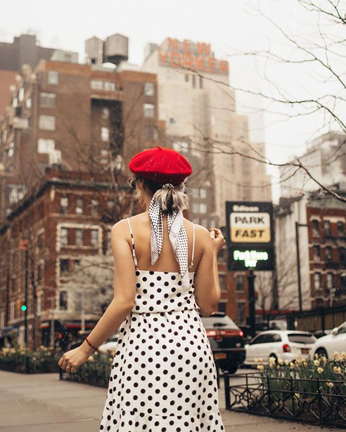polka dot outfits for this summer trend 2018 style fashion tendencias4