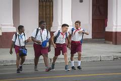 Cuban School Kids