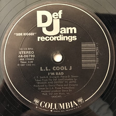 L.L. COOL J:I'M BAD(LABEL SIDE-A)