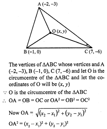 RD Sharma Maths Book For Class 10 Solution Chapter 14 Co-Ordinate Geometry