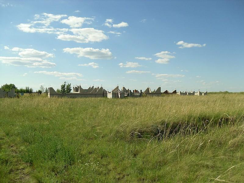 Мусульманское кладбище.