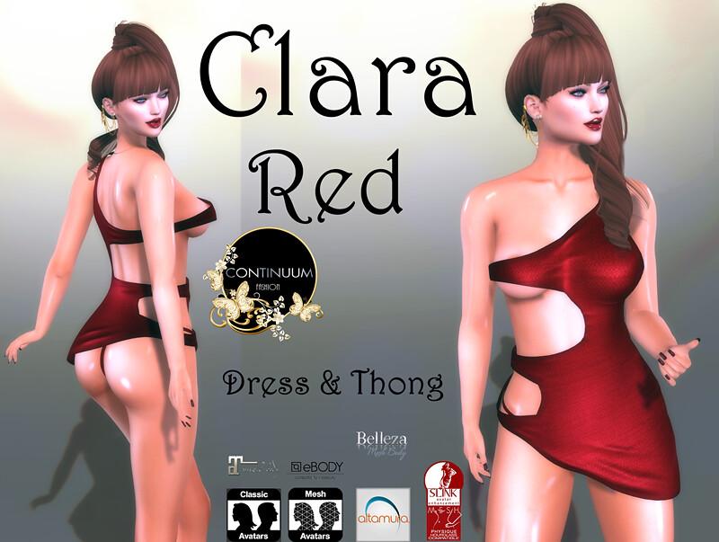 Continuum Clara Red