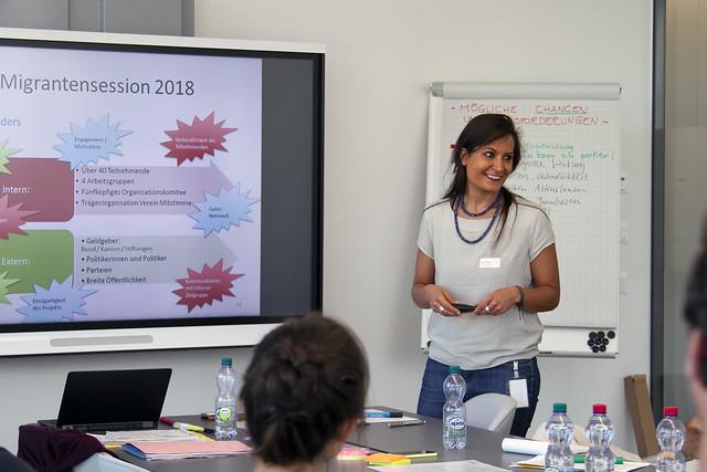 Campus für Demokratie vernetzt in Basel, 05.06.18