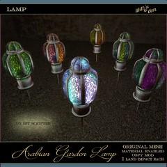 Lilith's Den - Arabian Garden Lamp