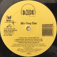 WU-TANG CLAN:PROTECT YA NECK(LABEL SIDE-B)