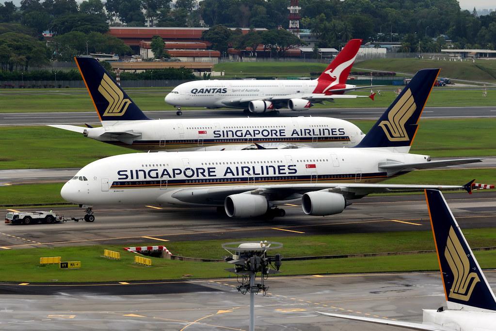 Airbus A380s | Singapore Changi