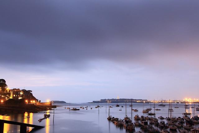 Avant l'orage sur St Malo