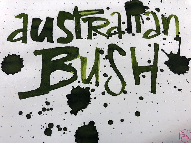 Blackstone Australian Bush Ink Review @AppelboomLaren 11