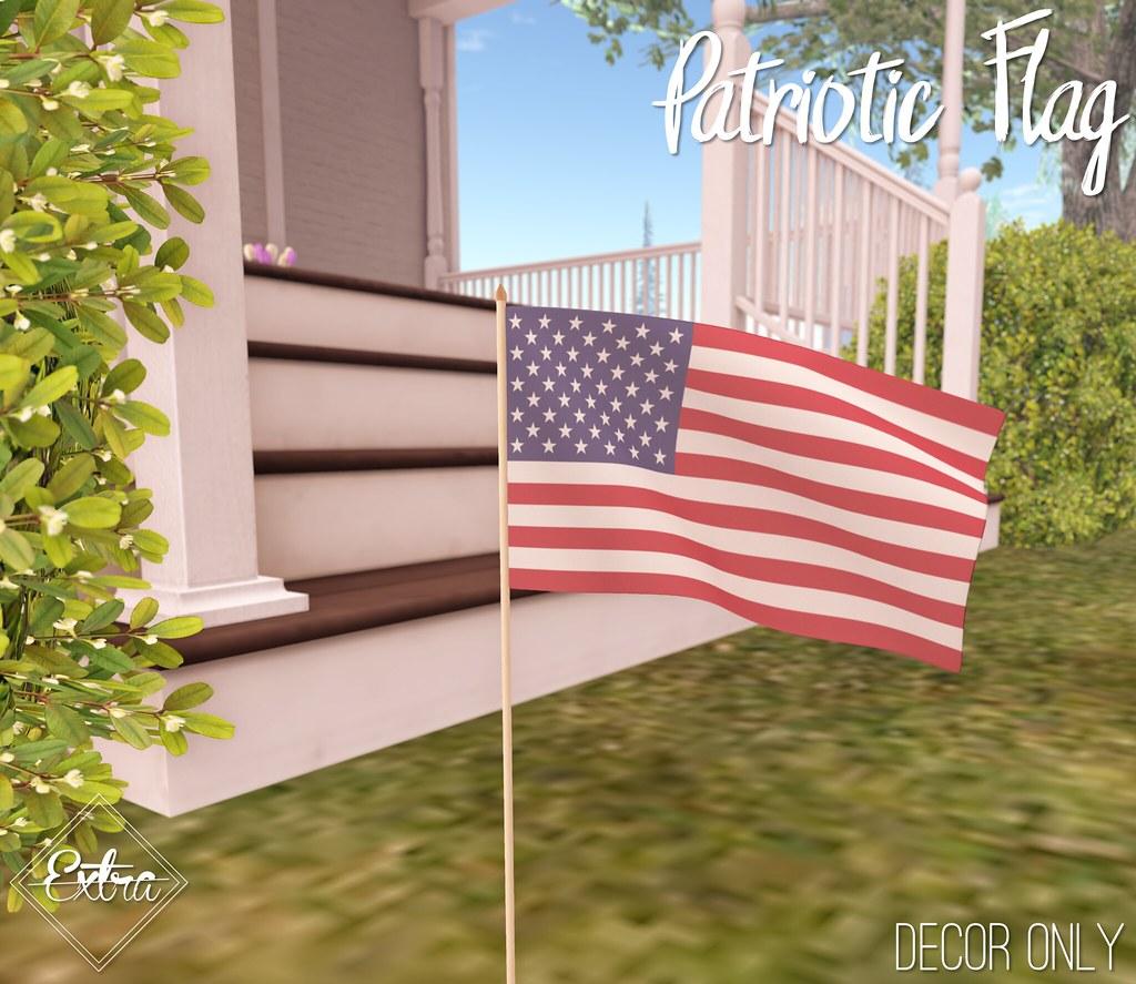 -Extra- Patriotic Flag - TeleportHub.com Live!