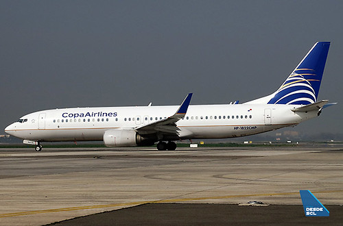 Copa Airlines B737-800 HP1832 (RD)