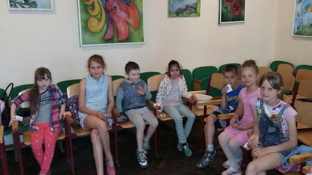 Відкриття літнього пришкільного табору Сонечко в ЗОШ №47