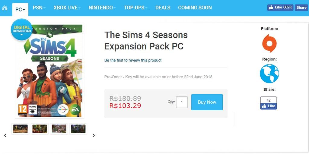 Photo of Pague Menos Pelo The Sims 4 Estações Comprando pelo CD Keys