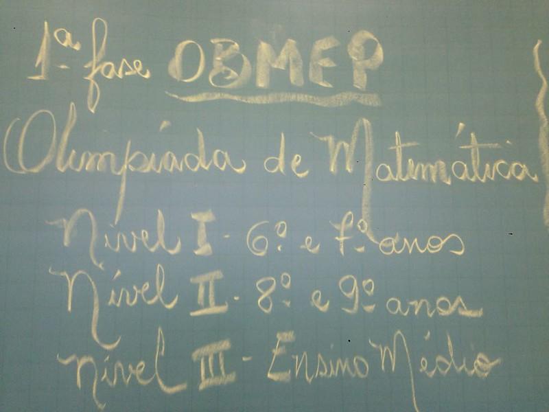 OBEMEP - 1º Fase
