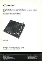 Garrard TechEng Service Manual SP25S