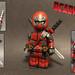 Custom Lego Deadpool by Brickophilia