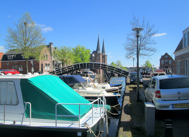 Bridge and Waterpoort, Sneek