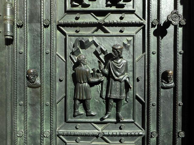 Prague Door of St, Nikon COOLPIX S3600