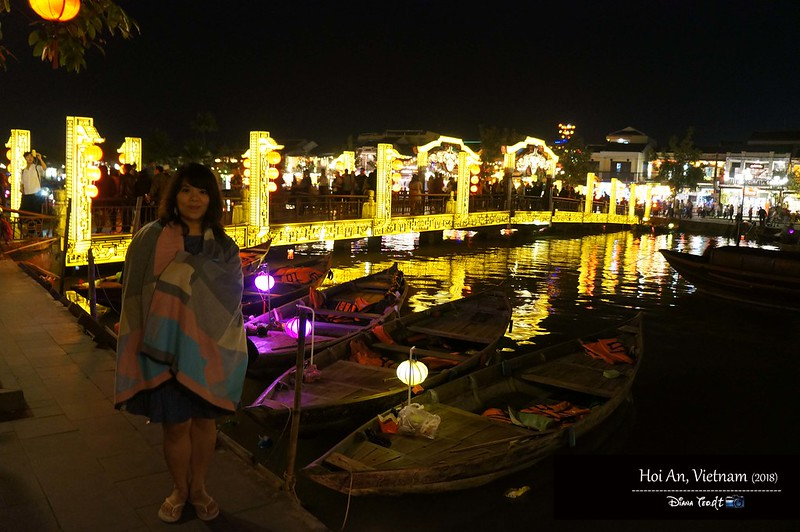 2018 Vietnam Hoi An Old Town Nightime