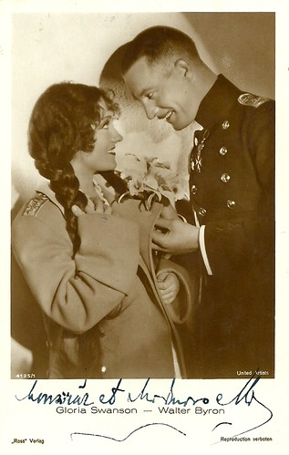 Walter Byron and Gloria Swanson in Queen Kelly (1929)