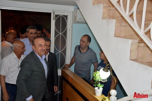 Sahur'da Zeytin Dalı'nda buluştular