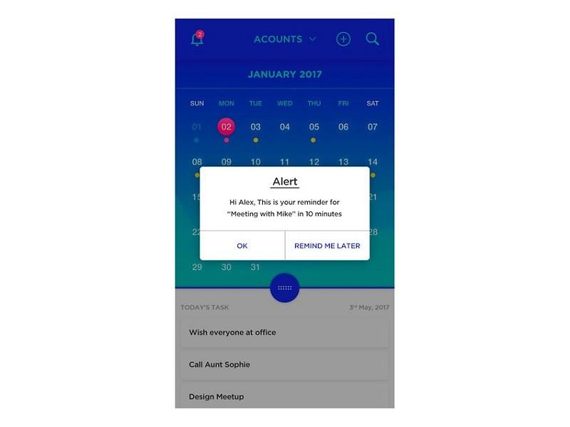 FreJun Calendar app
