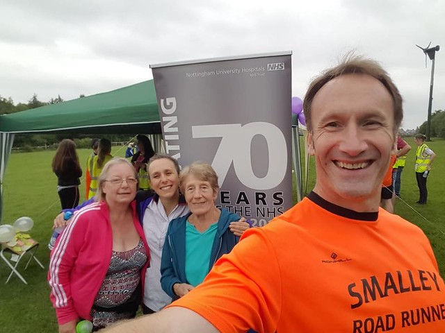 Shipley Country parkrun- 09/06/18 NHS70