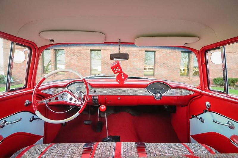 1955 Chevy 210 Townsman Wagon