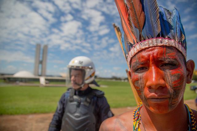 Proposta da bancada ruralista dificulta processo de demarcação de terras - Créditos: Guilherme Cavalli/Cimi