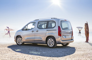 Neuer Opel Combo Life jetzt bestellbar