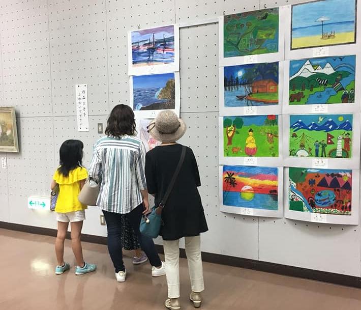 Exposición en Osaka con dibujos de niñas de Artequinto