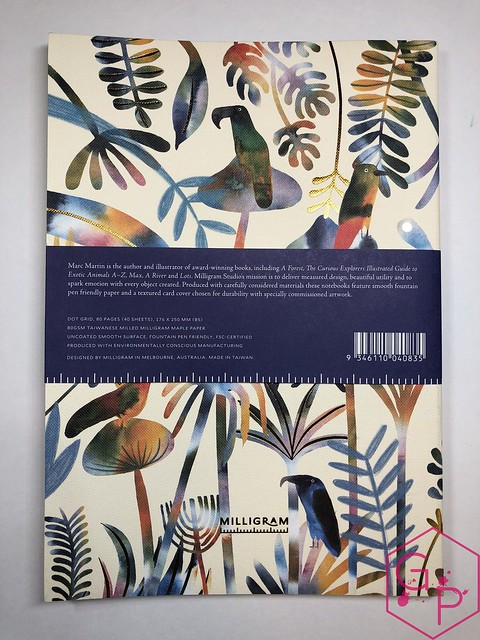 @MilligramStore Notebooks from Marc Martin Kaleidoscope Jungle & Melbourne Museum 3