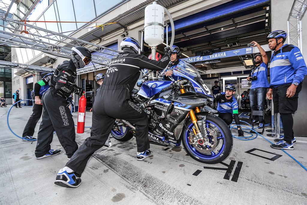 8,Hours,Oschersleben,2018,N 94 Gmt94  Yamaha, Di Meglio Mike, Canepa Niccolo, Checa David,