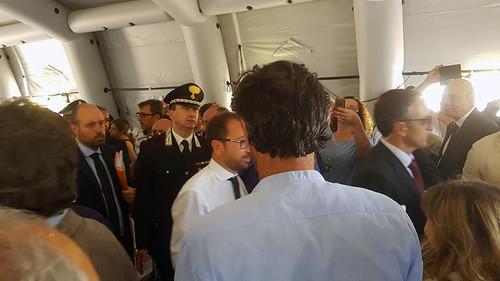 Bari. Il Ministro Bonafede al Tribunale Penale - 07/06/2018