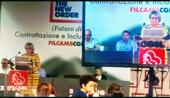 2018-6-5~6 General assembly of Filcams Cgil in Rome